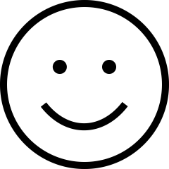 smile icon by Alexander Kahlkopf