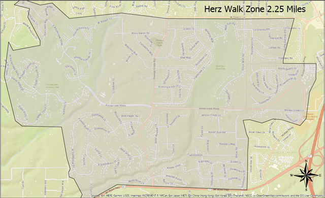 Marce Herz Walk Zone Map