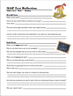 Image of Self Reflection Worksheet