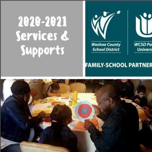 Supports and Services for the 20-21 School Year
