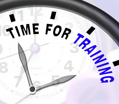 time for training clock