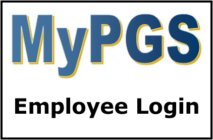 MyPGS Employee Login Button