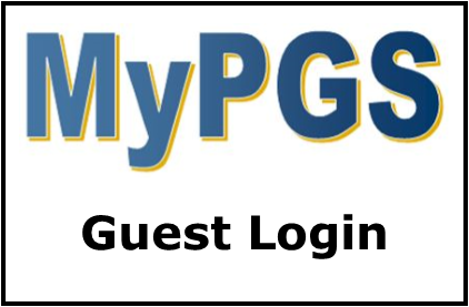 MyPGS Guest Login Button