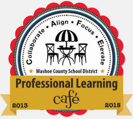 Professional Learning Cafe Button
