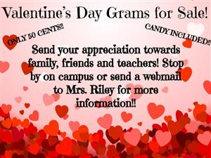 Valentine;s Day Grams for Sale