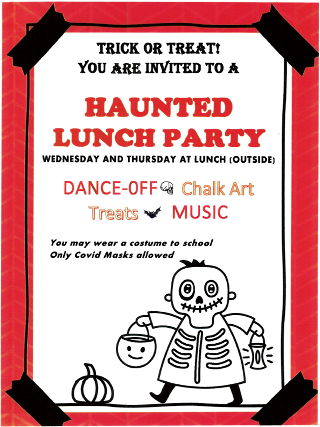 Haunted Lunch Party!