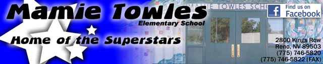 mamie towles elementary school banner image