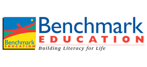 Benchmark Education Logo: Building Literacy for Life