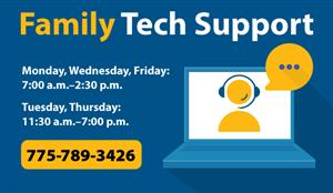 Family Tech Support call 775-789-3426