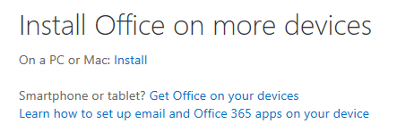 Office 365 / Download Office Pro Plus