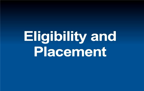 Video: IEP Reflective Roadmap Part 3: Eligibility and Placement