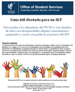 Spanish Version IEP Roadmap