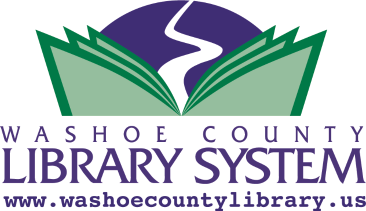 washoe county library system logo