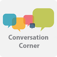 Conversation Corner Button